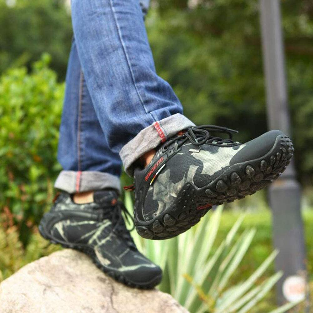 GAOLIXIA Autumn and Winter Outdoor Shoes Hiking Shoes Waterproof Non-Slip wear Shoes