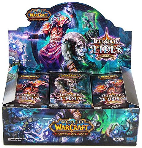World of Warcraft TCG WoW Trading Card Game Aftermath Throne of the Tides Boo...