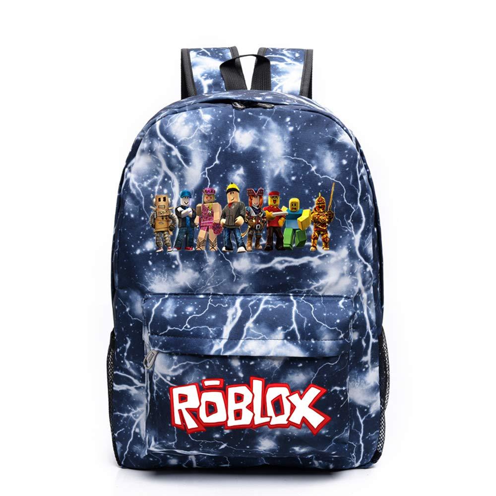 Roblox Mochila Escolar Bolsa de Libro Bolsa de Mano Bolsa de Viaje