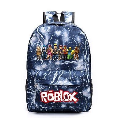 Amazon.com: Roblox - Mochila para escuela, bolsa de libros ...