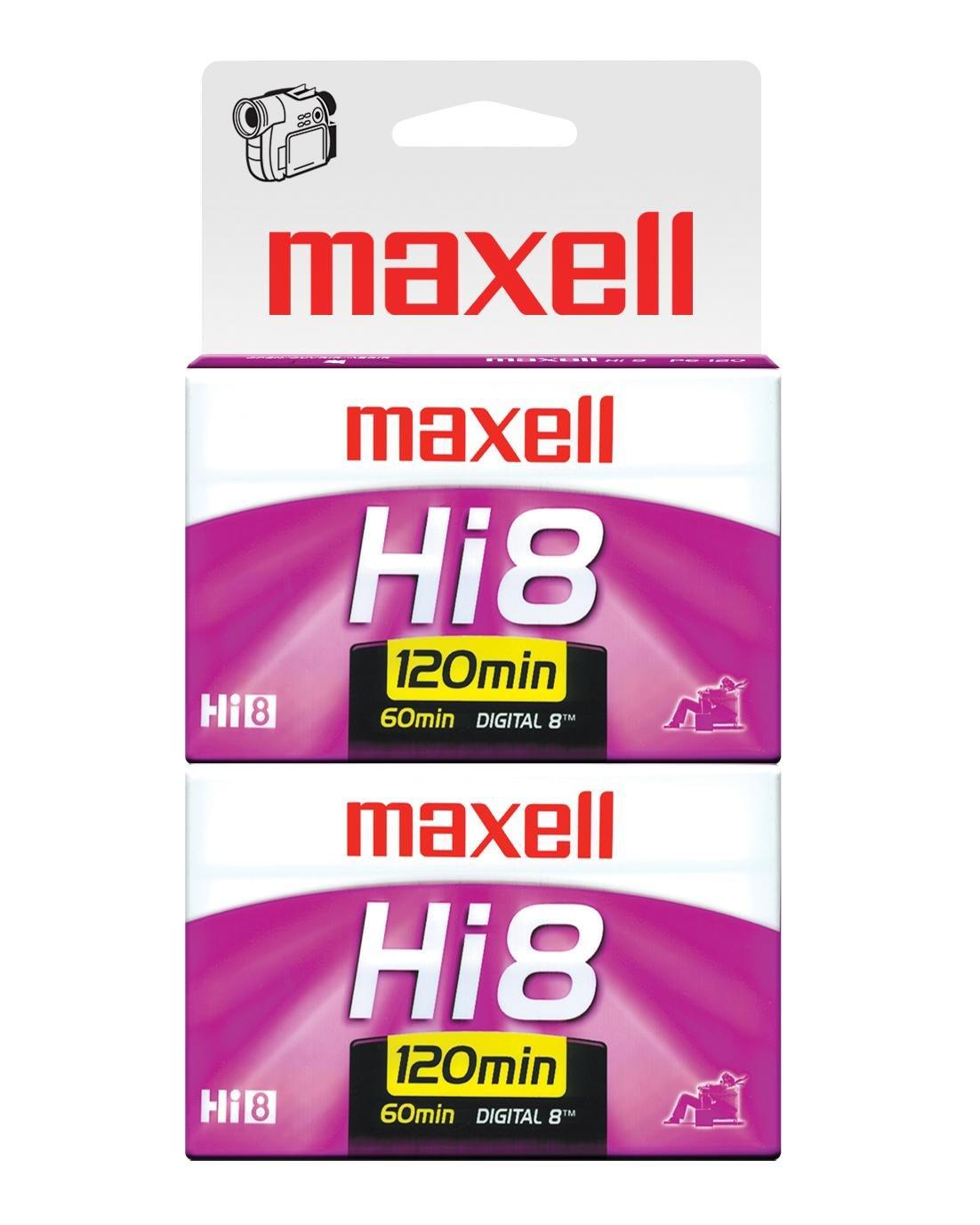 Maxell 281120 XRMP6-120, 2-Pack XR-M P6-120 2PK