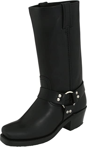 Amazon.com | FRYE Wo's Harness 12R Boot | Mid-Calf