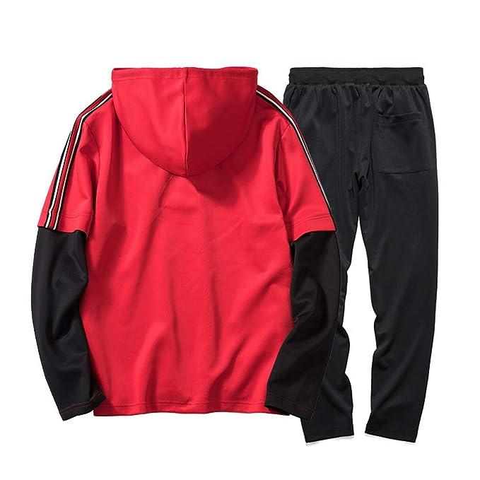 Longra ☂☂ Pantalones de Verano Autumn Patchwork Sudadera Top Plus Conjuntos de Deporte Chándal: Amazon.es: Ropa y accesorios