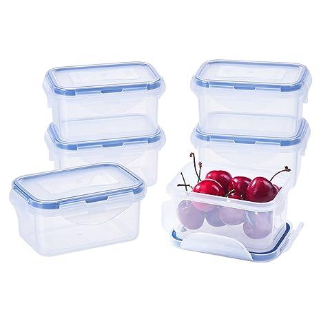 Amazon.com: Contenedores de almacenamiento de alimentos ...