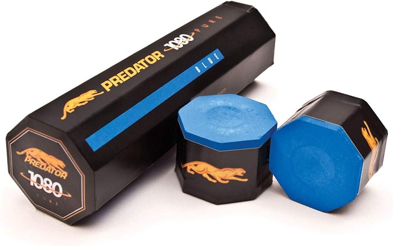Tiza de billar Predator azul, 5 St: Amazon.es: Deportes y aire libre