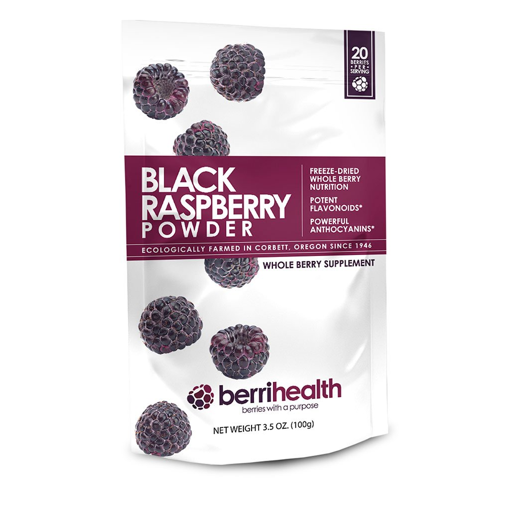BerriHealth's 100% Authentic Black Raspberry Powder - 100 Grams by BerriHealth