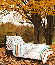 Twin World Map Reversible Duvet Cover Set with 1 Pillowcase for Kids Bedding - Double Brushed Microfiber Does Not Shrink or Wrinkle by Where The Polka Dots Roam (68\