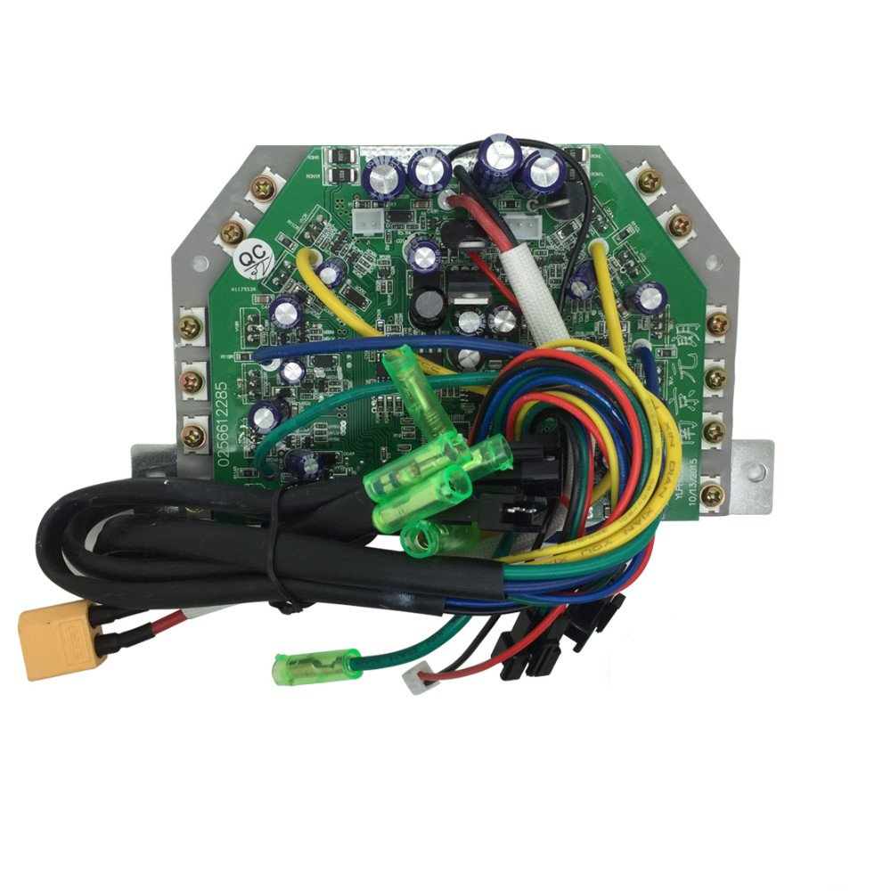 Quanmin Universal Hoverboard Zweirad Auto Selbstausgleich Controller Board Smart Elektroroller Zubehör Motherboard Balance Auto Teile LED Balance Car Control QM-Balanced car PCBA-001
