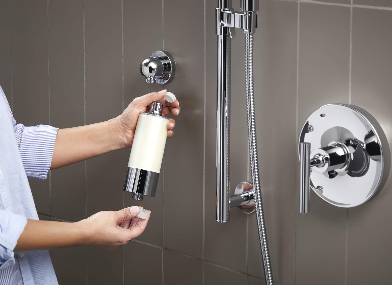 Kohler 30646-CP Aquifer Shower Water Filtration System, Reduce Chlorine and Odor, Includes Filter Replacement by Kohler (Image #12)