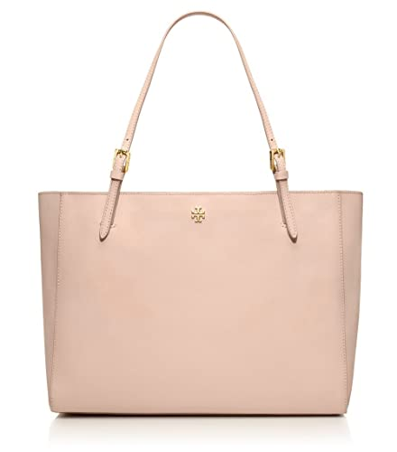 6d235515ebf5 Amazon.com  Tory Burch Large York Saffiano Leather Buckle Tote in Light  Oak  Shoes