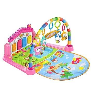 Amazon.com: Alfombrilla de gimnasio musical para bebé, 3 en ...