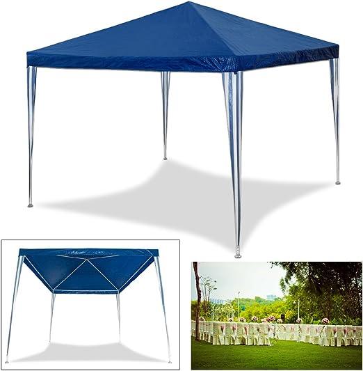 HG® 3 x 3 m pérgolas boda Carpa Tienda para playa camping jardín ...