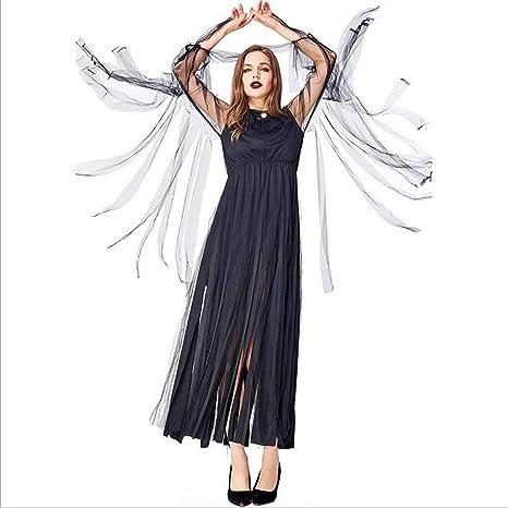 CYYMY Disfraz de El Mal Bruja para Mujer Adulto Noche de Halloween ...