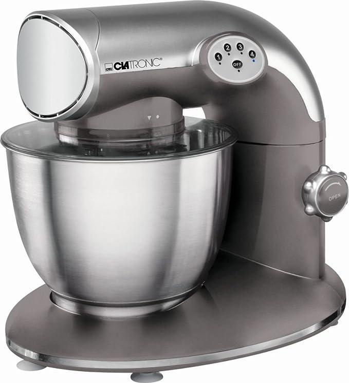 Robot de cocina con ganchos para amasar, levantaclaras y ganchos para mezclar (amasadora con potente motor de 1200 W + Cuenco aprox. 5,6 litros de acero inoxidable): Amazon.es: Hogar