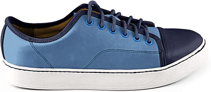 Aqua Green Quvel Mens Santo Domingo Sneaker