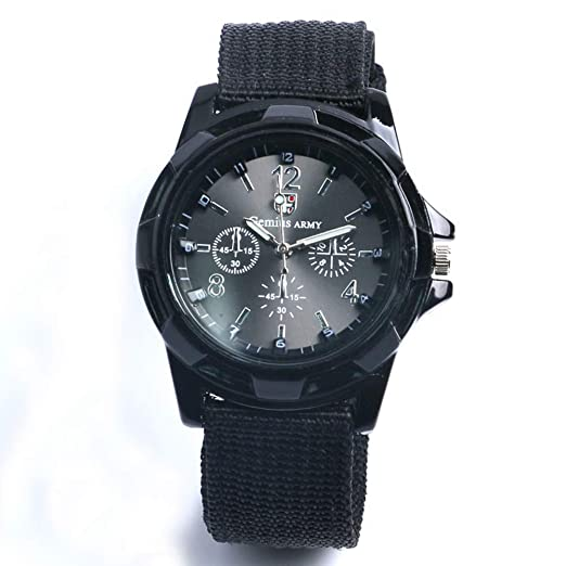 2ce65465b18c Army Nylon Watch for Men Women Military Gemius Men s Sports Watches Gift  for Men Wrist Watch