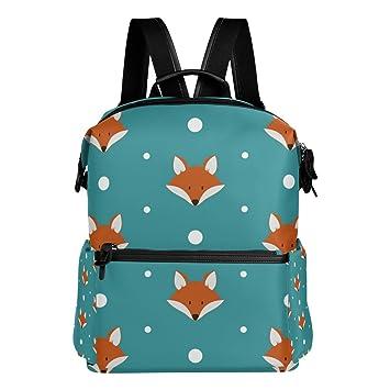 COOSUN Linda de la escuela zorros Mochila mochila de viaje Multi: Amazon.es: Equipaje