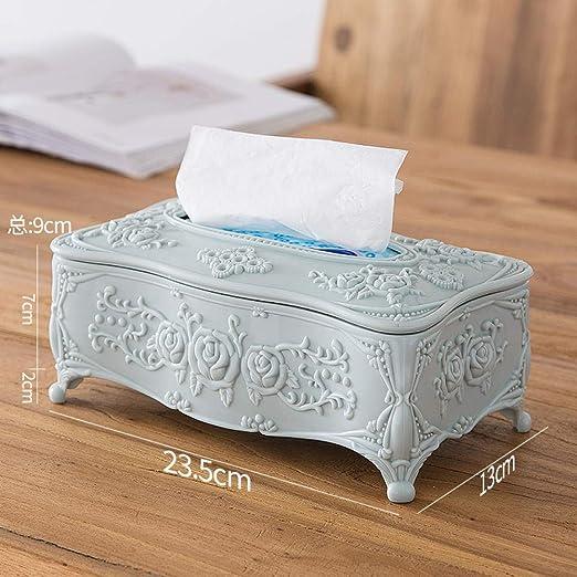 ROTOOY Caja De Pañuelos Caja De Pañuelos De Papel Caja Europea ...