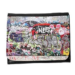 le portefeuille de grands luxe femmes avec beaucoup de compartiments // V00002333 pintada de la ciudad // Small Size Wallet