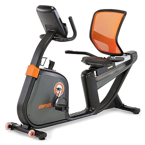 AFG 7,3 Ar reclinado bicicleta estática - HRB0102-01, Multicolor ...
