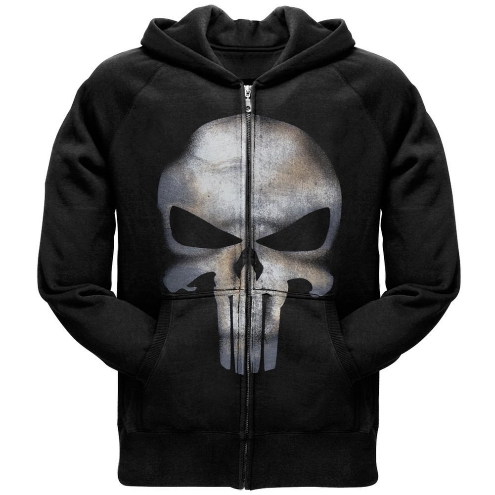 Punisher - No Sweat Zip Hoodie MAD ENGINE 79058-MD