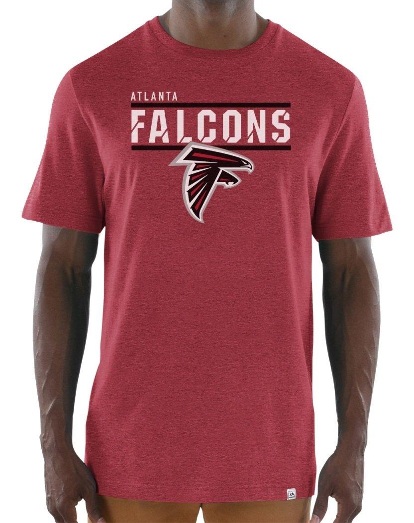 """Atlanta Falcons Majestic NFL """"Flex Team"""" Men& 039;s Premium Tri-Blend T-Shirt"""
