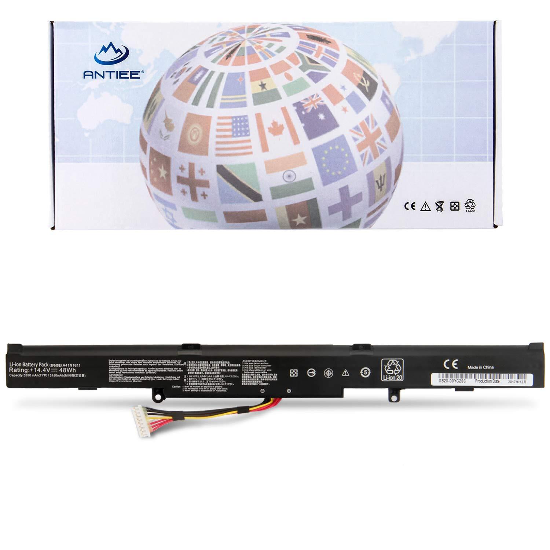 Bateria A41n1611 Para Asus Rog Strix Gl553 Gl553ve Gl553vd Fx53vd Gl553vw Gl753v Gl753v Series A41lp4q A41lk5h Ob110-004