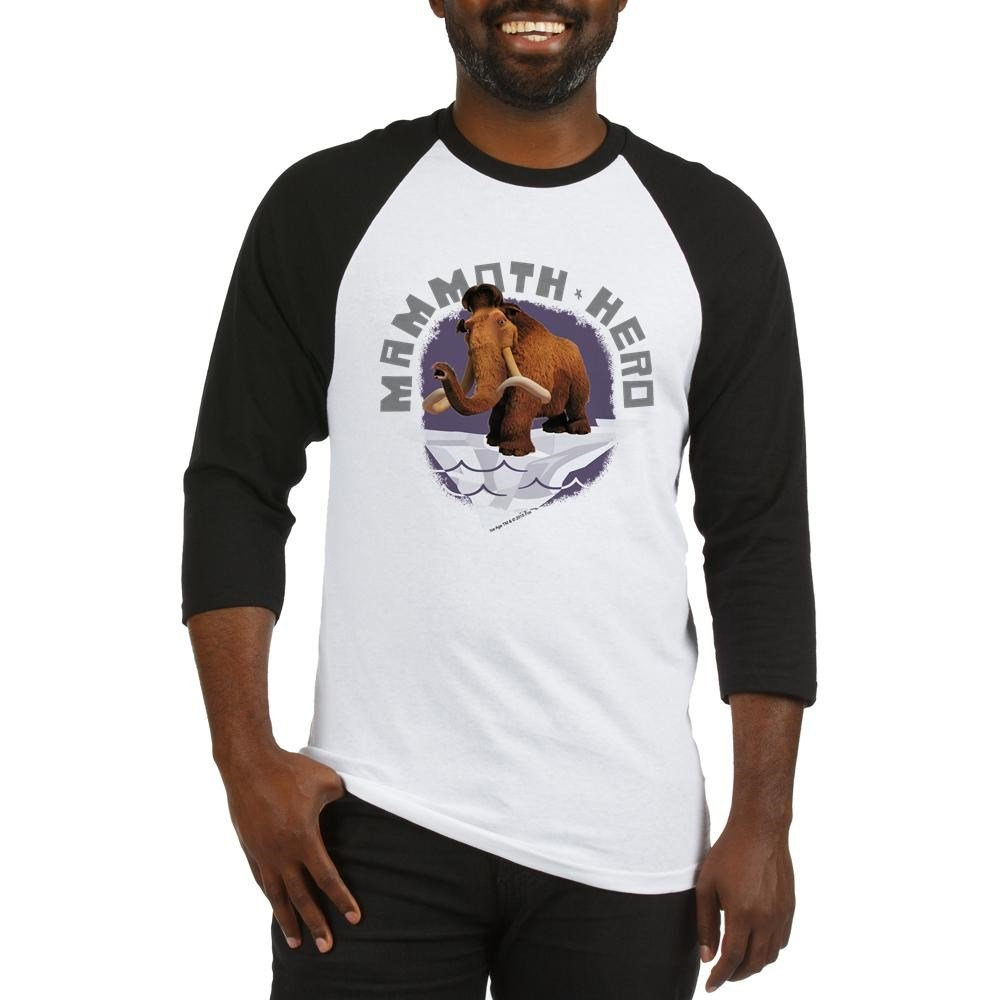 Amazon.com: CafePress Ice Age Mammoth Baseball Jersey - Cotton ...