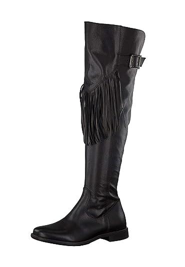 Tamaris Damen Stiefel in schwarz | Schuhfachmann