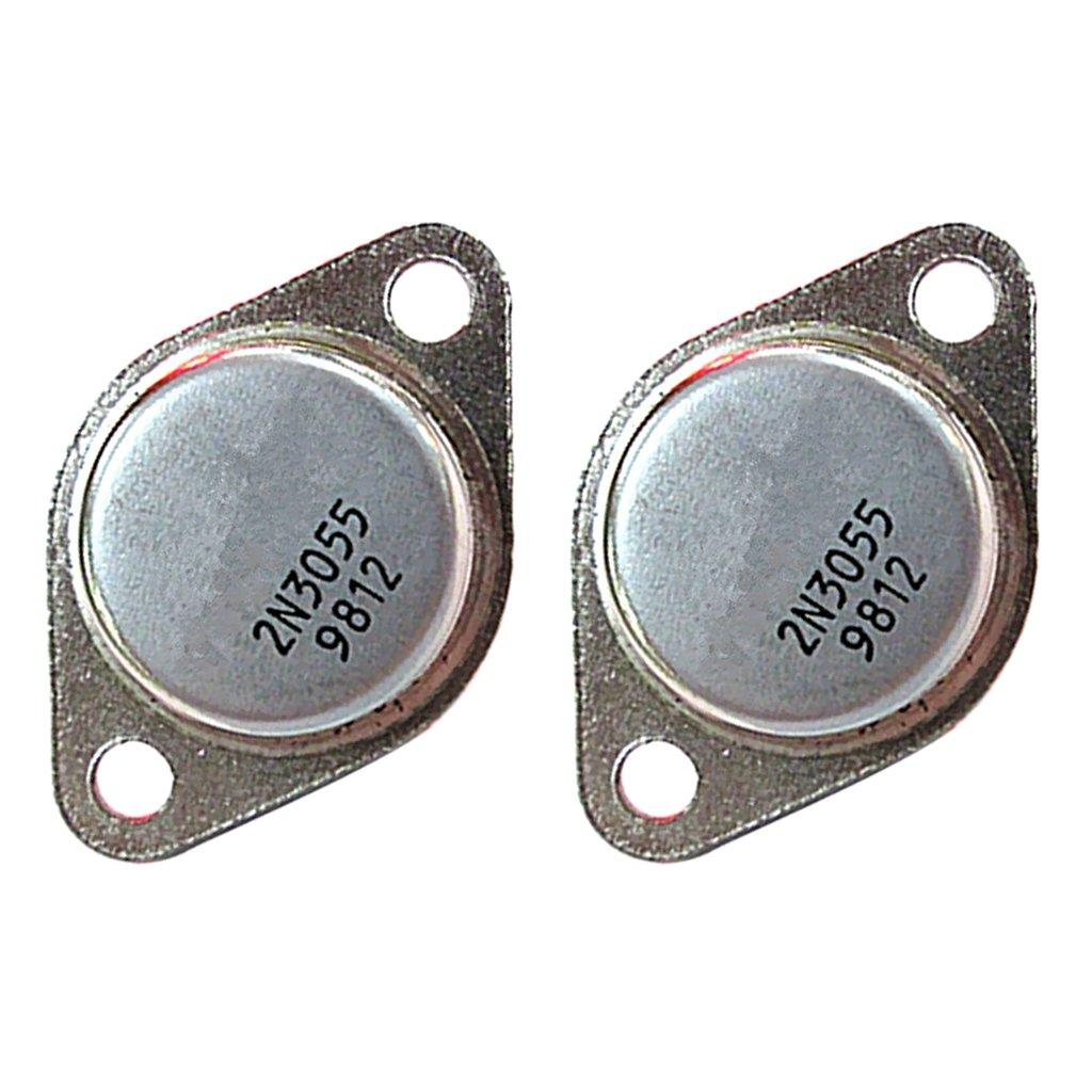 Instalaci/ón En Base 60V 15A 115W Transistor 2N3055 Transistor De Potencia A-3 NPN
