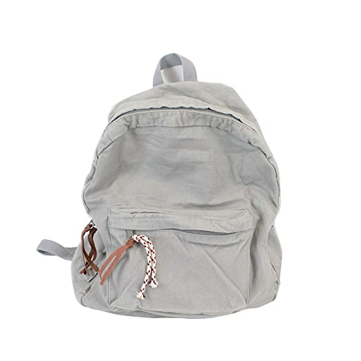Image Unavailable. Image not available for. Color  Yiuswoy Korean Style Canvas  Rucksack Backpack For Girls ... 2a261f66b1