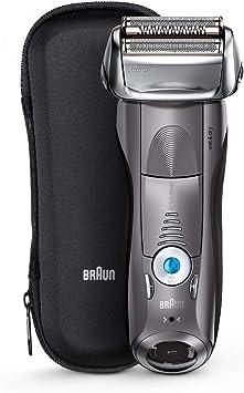 ブラウン シリーズ7 メンズ電気シェーバー 7855s-P 4カットシステム 水洗い可/グレー