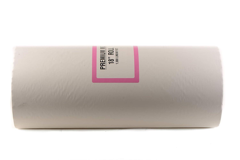 Rollo de papel de carnicero blanco de 18 x 1000 pies para ...