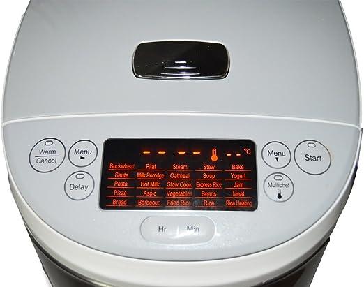 Jocca 5527 Robot de cocina, 4 l, color blanco, Aluminio: Amazon.es: Hogar