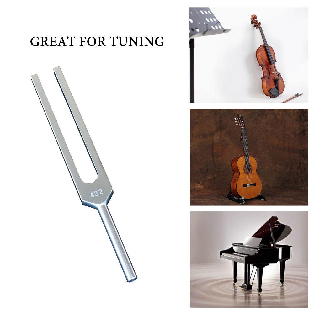 Sleeply Angel Tuning Forks Tuning Fork Set for Healing 4096 Hz, 4160 Hz, 4225 Hz Mr