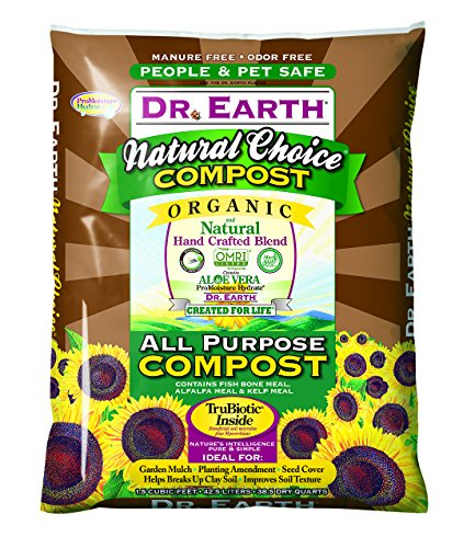 Organic Compost (Dr. Earth Natural Choice All Purpose Compost 1.5 Cu. Ft.)