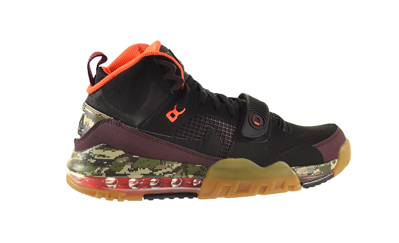 new product 41212 a14f3 Amazon.com   Nike Air Max BO Jax Premium Men s Shoes Black Black-Deep  Burgundy-Hyper Crimson 654479-001 (8 D(M) US)   Basketball