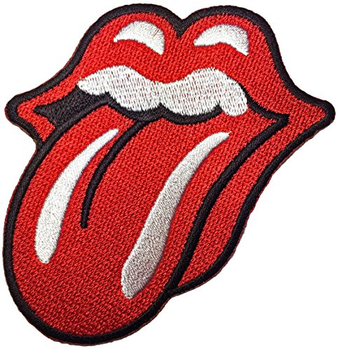 Rolling Stone Punk Rock Heavy Metal Music Band Logo Jacket Vest Shirt Hat Cap Backpack Tee Sewing Iron on Embroidered Applique Emblem Badge Costume Patch - Top Quality (Miss Daisy Fairy Costumes)