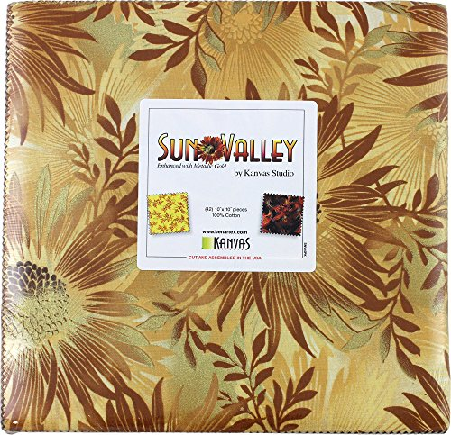 Kanvas Studio Sun Valley 10X10 Pack 42 10-inch Squares Layer Cake - Valley Sun Shop
