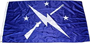 AHAYLYN 3x5 Ft New Commonwealth Minutemen Flag Fallout Banner,Blue