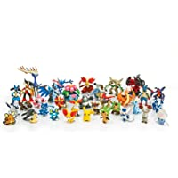 POKEMON Complete Set Pokemon Action Figures 144 Pieces