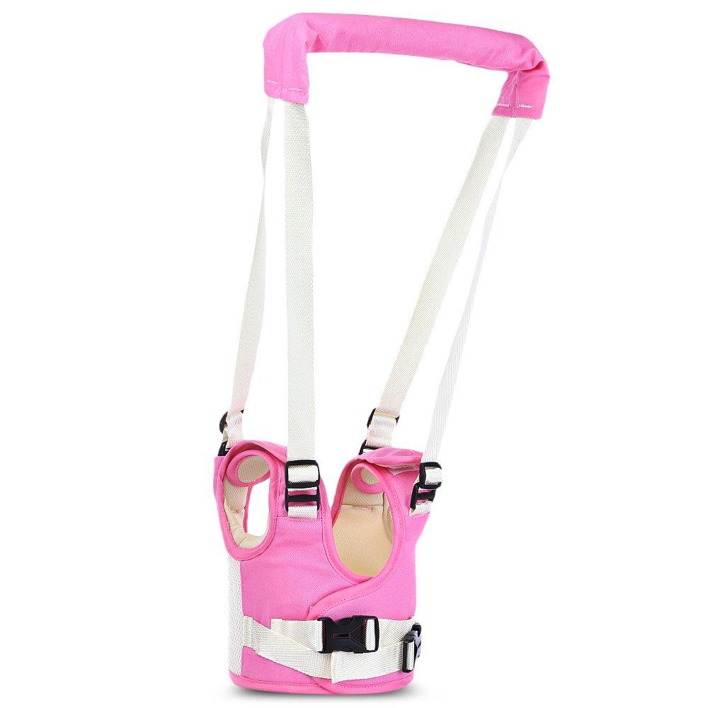 Kidsidol Cablaggio Del Baby Walker Redini Primi Passi Cintura Pi Sicurezza Per Camminare Con l'Aiuto Del Deambulatore Adatto Per Neonati (Cadetblue)