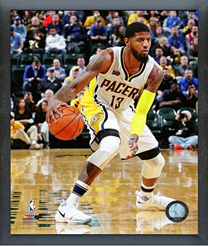 e5a361efbf5 Image Unavailable. Image not available for. Color  Paul George Indiana  Pacers NBA ...