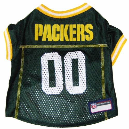 Pets First NFL Green Bay Packers Jersey, X-Small