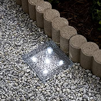 Amazon Com 6x9 Solar Led Paver Light 9 Ultra Bright