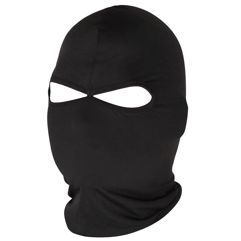 Trixes Lyrca Full Face Mask Balaclava per motociclismo fuori esterno ZJ13