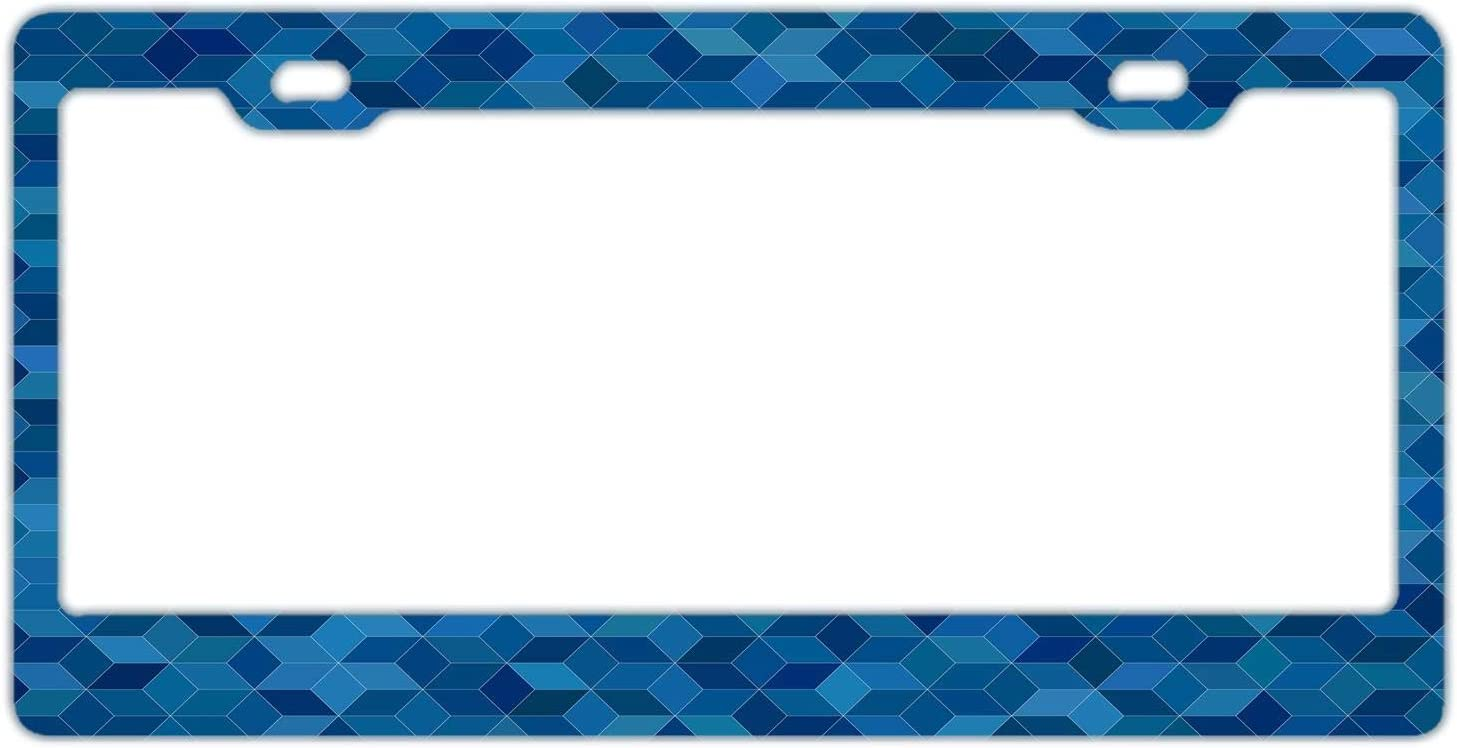 Decorative License Plate Frame Cute License Plate Frame Funny Car Accessories Novelty License Plate Frame 2 Hole and Screws