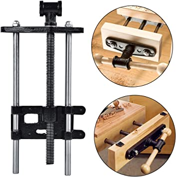 """10.5/"""" Steel Wood Working Woodworking Bench Under Table Vise with Quick Release"""