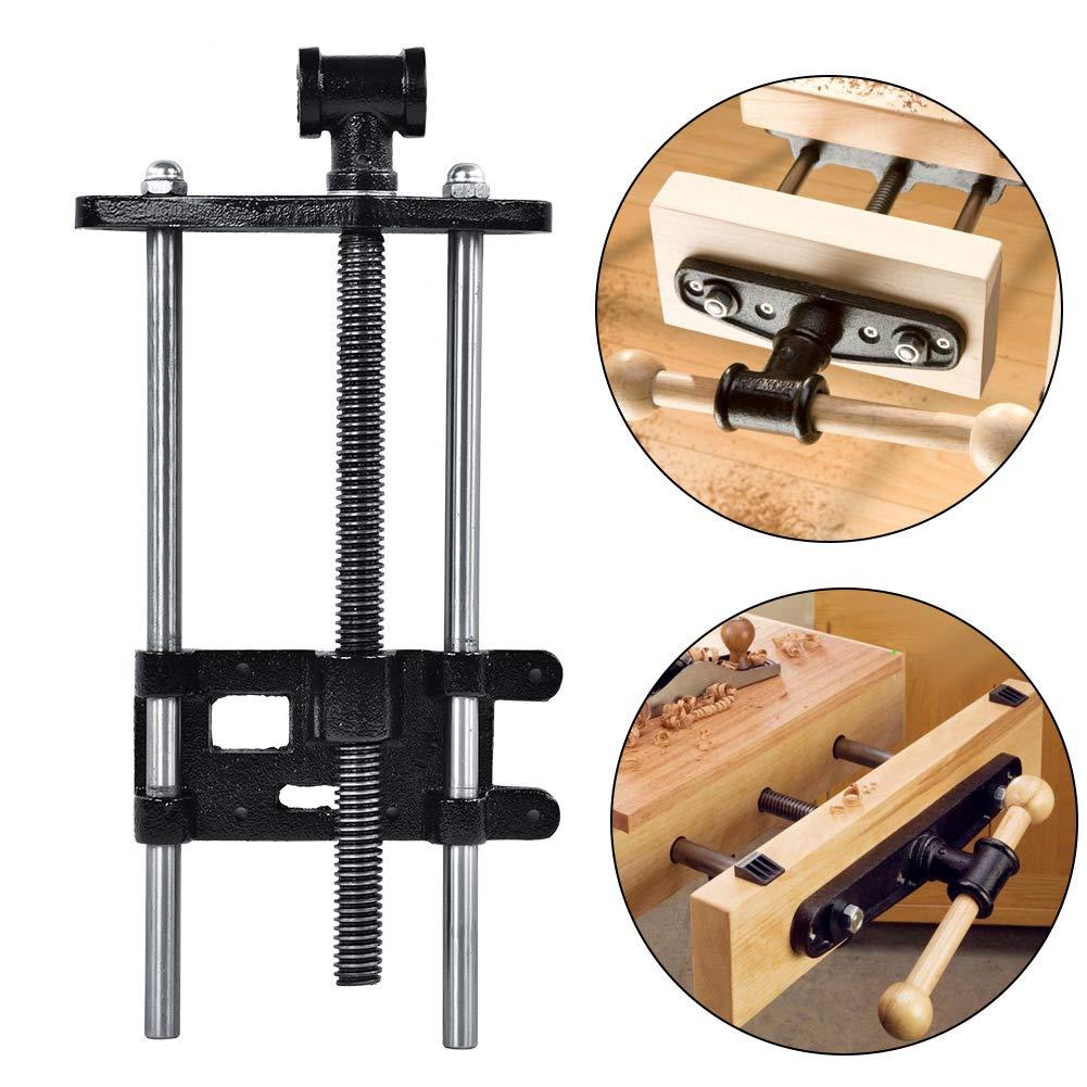 Cocoarm Schraubstock 360/° drehbar Amboss f/ür Werkbank Holz Arbeitstisch Klemme Bauarbeiter Schraubstock Gewicht 10kg
