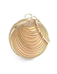 Emour Woman suede round ball fashion party prom handbag clutch